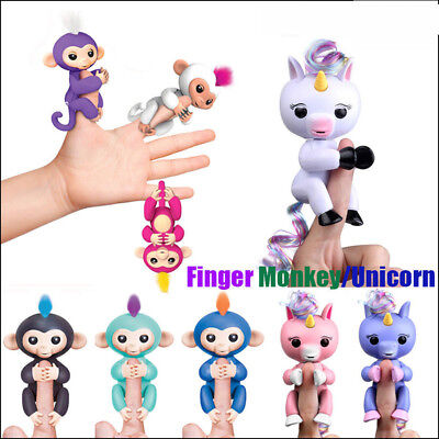 Electronic Finger Toy Baby Monkey Baby Unicorn Interactive Cute Kid Toy
