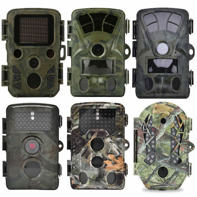 Hunting Trail Camera 1080P 12MP Waterproof Wildlife Scouting Cam Night Vision HH