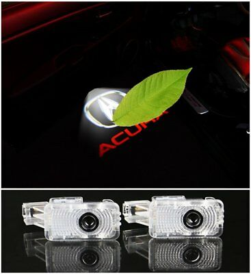 4X Car Door LED Light Welcome Light Ghost Shadow Projector for Acura MDX ZDX TLX