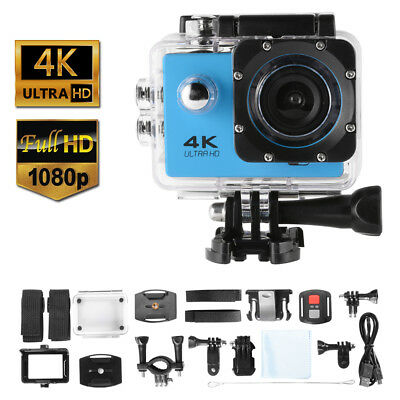 Waterproof 4K 30fps WiFi Ultra HD 16 Mega Pixel 1080P Sport Action Camera LF871
