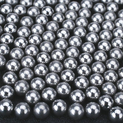 200PC Steel Ball Hunting Catapult Slingshot Bearing Ammo Outdoor Game 6mm HOT