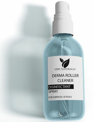Derma Roller Cleaner Disinfectant Steriliser Spray For Surfaces & Tools 100 ml