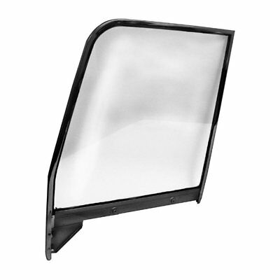 55 - 59 Chevy Pickup Truck Door Window Glass With Painted Frame - Right Side