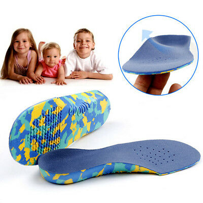 Kids Children Orthotic Insoles Orthopedic Flat Feet Arch Support Shoe Inserts US