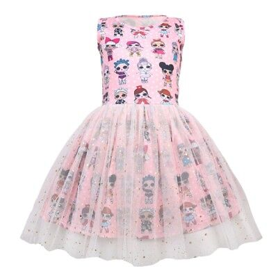 New Girls Kawaii LOL Surprise Doll Party Holiday Birthday Tutu Dress