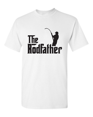 The RodFather / Rod Father - Fishing Angling Cod / Rod - Men's T Tee Shirt