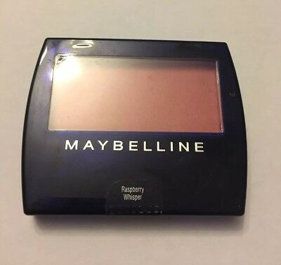*BRAND NEW SEALED Maybelline Pressed Powder Blush w/Brush Raspberry Whisper 6.3g