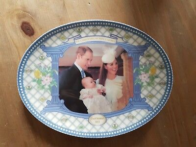 The Peter Jones Christening Of Prince George Plate Limited Edt Of 500