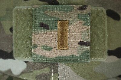 Uscg Us Coast Guard I/a Multicam Ocp O-1 Hook Back Camouflage Camo Uniform Rank
