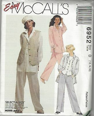 McCall/'s 6952 Misses/' Dresses and Belt 16 to 24   Sewing Pattern