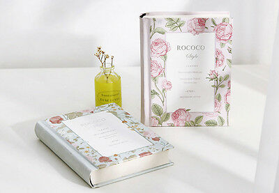 1x Miss Rococo Diary Notebook Classic Hard Cover Journal Planner Memo Organiser