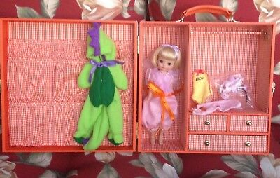 """TONNER 8"""" BETSY MCCALL DOLL HALLOWEEN TRUNK GIFT SET Dinosaur, """"BOO"""" Outfit Etc"""