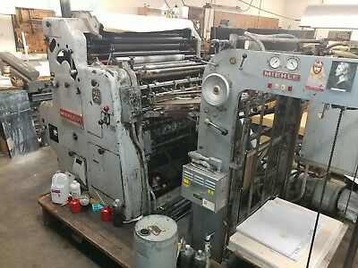"""MIEHLE 36 SC press 1 COLOR 36"""" Standard Damp like SORD. Free Loafing"""