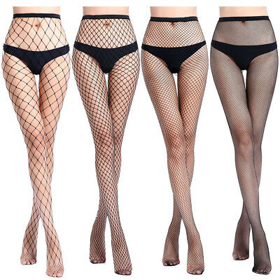 Sexy Pantyhose Fishnet Tights Lingerie Jacquard Stockings Black Adult Plus Size