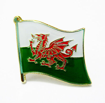 Welsh National Flag Metal Lapel Pin Flag Pin