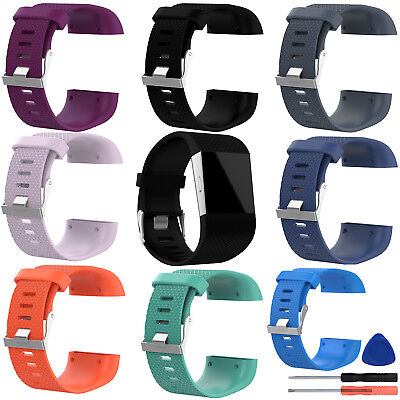 Replacement Band Strap Buckle Tool For Fitbit Surge Tracker Wristband L/Small