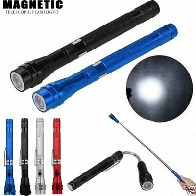 3 LED Telescopic Flexible Magnetic Light Flashlight Torch Pick Up Tool Lamp New