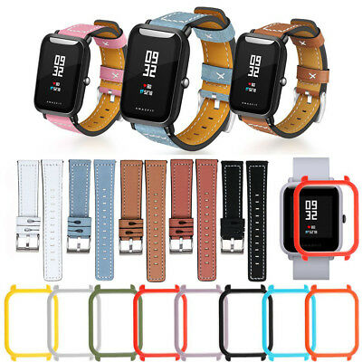 For Xiaomi Huami Amazfit Bip Youth Leather Watch Band Wrist Straps Bracelet NEW
