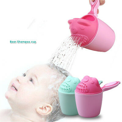 Baby Bath Cup Bathing Water Shower Pouring Toys Shampoo Rinse Kids Hair Wash