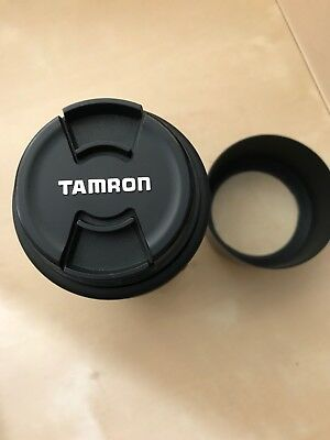 Tamron AF zoom lens 70mm - 300mm f4/5.6. With front and rear lens caps and lens