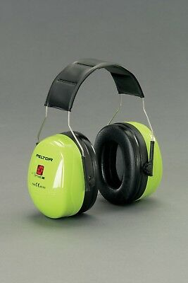 3M Peltor Optime 3 Eardefender Hi-Viz H540A-461-GB Free UK Mainland Ship