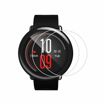 2PCS 9H 0.26mm Tempered Glass Screen Film for Xiaomi Huami Amazfit Smartwatch