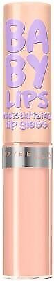 (2 Pack) Maybelline New York Baby Lips Moisturizing Lip Gloss, #25 Taupe With Me