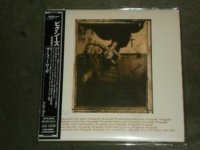 Pixies ‎Surfer Rosa & Come On Pilgrim Japan Mini LP