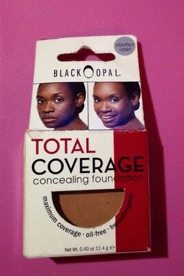 Black Opal Total Coverage Concealing Foundation Heavenly Honey 0.40 oz