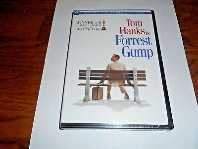 Forrest Gump DVD Movie 1994 Special Collector Ed. 2 Disc Set ] New + Fast Ship