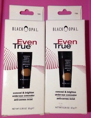 Black Opal Even True Conceal & Brighten Under-Eye Concealer .35 oz - Tan X 2