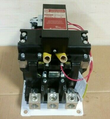*NEW* Square D 300A Lighting Contactor 8903SXA14V02 110/120 Coil SX014   D4