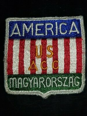 WWII US Army Austria Hungary AAC Command Patch Priced to Sell