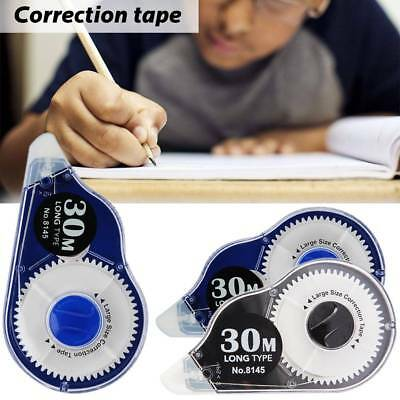 30M*5MM Roller Correction Tape White Out Study Office School Student Stationery