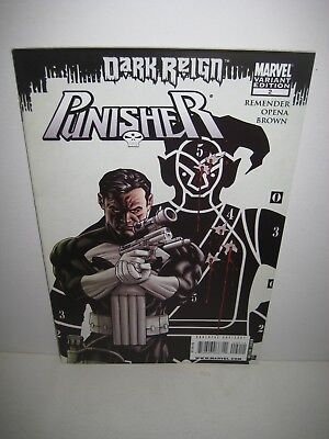 PUNISHER #2 VOL.8 2009 DARK REIGN Marvel Variant