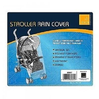 Universal Buggy Pushchair Transparent Rain Cover Baby Stroller Pram Waterproof