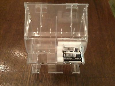 Lip Balm Counter Display/Dispenser, 4 Cell, Clear Acrylic, Holds 72 pc., Defects