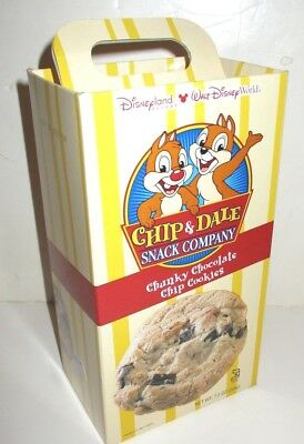 Disney World Disneyland Parks Chip Dale Snack Company Empty Cookie
