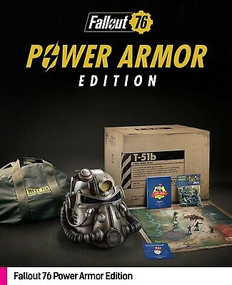 Fallout 76 Power Armor Edition PlayStation 4 PREORDER SOLD OUT PS4 Bethesda