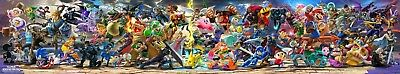 "Super Smash Bros Ultimate Poster Video Game Art Print 10x53"" 15x79"" 20x105"" #4"