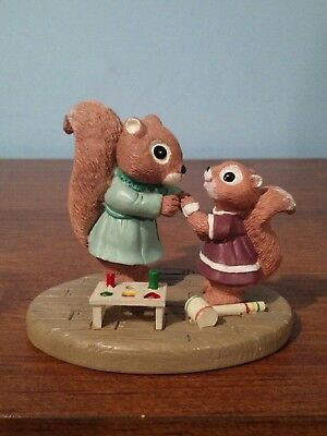 FIGURE: TENDER TOUCHES: Nothing Can Compare to Tender Loving Care, Squirrels '88