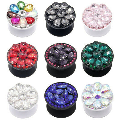 Diamond Bling Universal Pop Up Phone Holder Expanding Stand Tablet Hand Grip