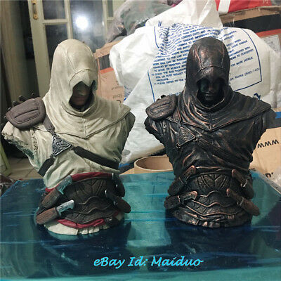 Ezio Auditore Bust Figure Assassin's Creed Resin Statue Model Collections 6.7''H