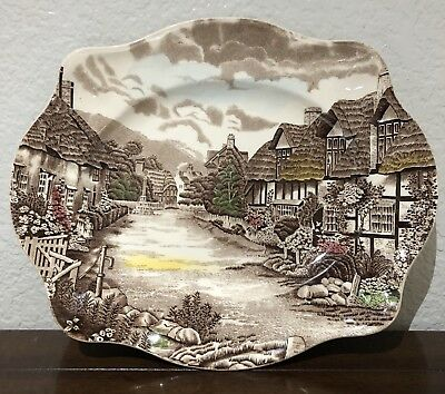 Johnson Brothers Old English Countryside Dinner Server Plate