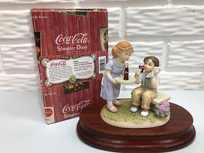 Coca-Cola Simpler Days 1998 Time Stands Still When We're Together Double Figure