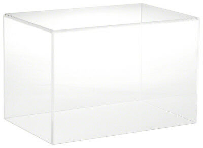 """Plymor Brand Clear Acrylic Display Case with No Base, 12"""" W x 8"""" D x 8"""" H"""