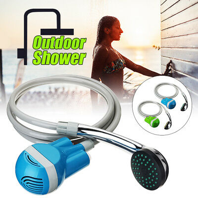 WINKSOAR USB Rechargeable Shower Water Pump Travel Trip Camp Boat Caravan Set AU