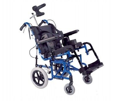 Tilt in Space Reclining Adjustable Wheelchair Children Kids Small Adult 3 Sizes