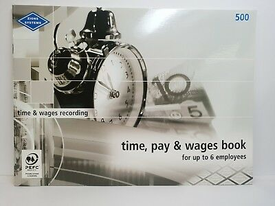 Zions #500 Time, Pay and Wages Book - ZN500