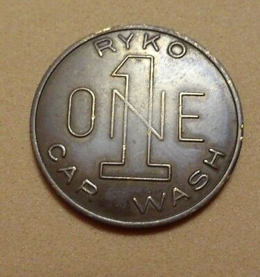 Ryko Car Wash Token, In Good Condition.